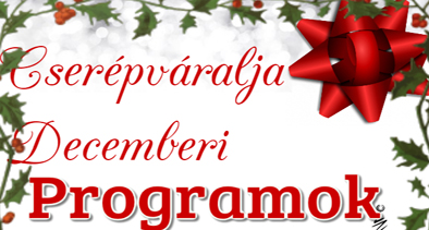 Decemberi programok