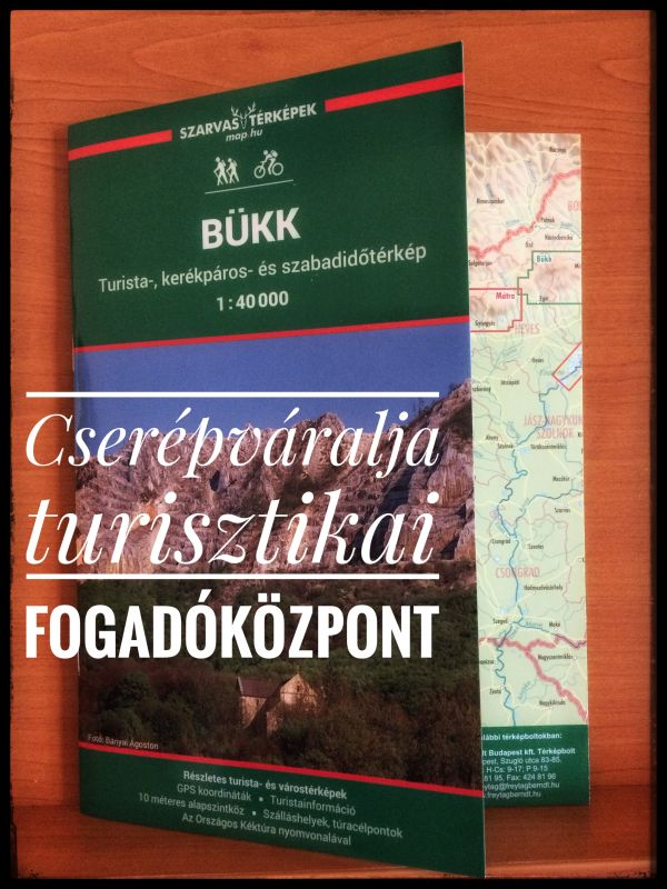 Már Cserépváralján is kapható a Szarvas András-féle Bükk térkép!
